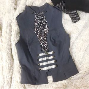 Bebe Military Style Vest